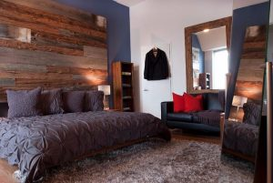 distressed-wood-bed-room-e1470868698544 Making Time for Beauty