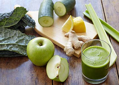 green-juice Detoxing the Body to Make Way for the New